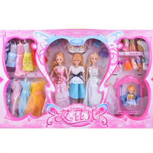 30CM 3pc dolls toy set