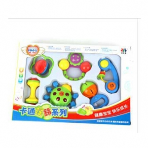 Baby Toy Rattle 6pc Set