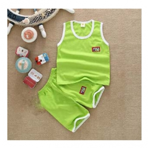 Kid's Cotton set - tank top and shorts