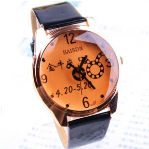 159049 Leather watch