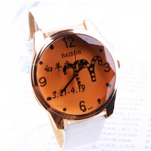 159058 Leather watch