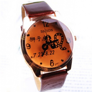159100 Leather Watch