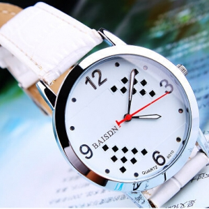 158558  Casual leather watch