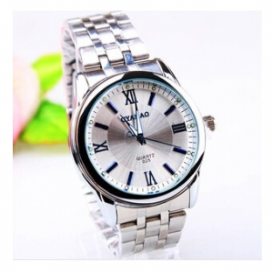 163424 Casual steel watch