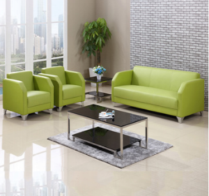 Preorder-Leather three-seat sofa+2 armchairs