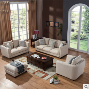 Preorder-Fabric three-seat sofa+two-seat sofa+armchair