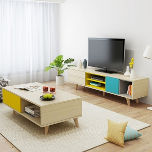 Preorder-TV bench +coffee table