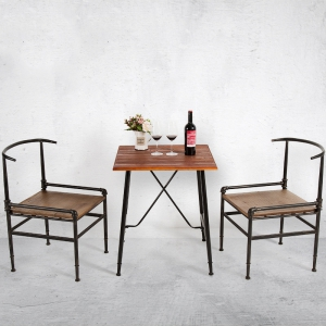 Preorder-dining table+2 chairs